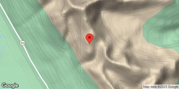 Hector South Ridge Area