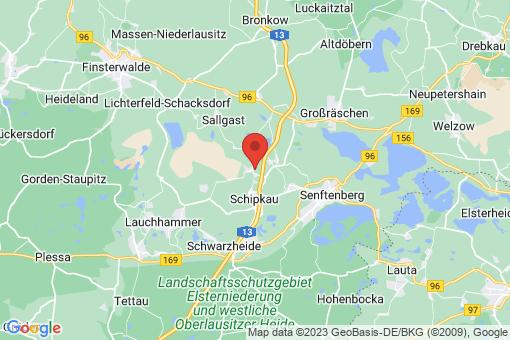 Karte Schipkau Klettwitz