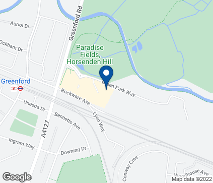 Map of 1000 Greenford Road in Greenford