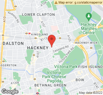 Map of A. G. Price Florist at 217-219 Well Street, London, Inner London E9 6QU