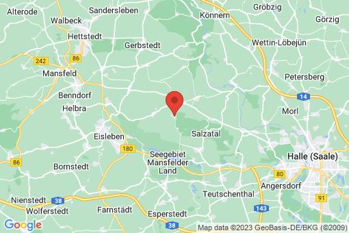Karte Dederstedt