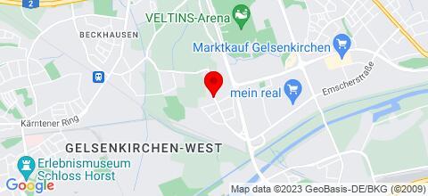 Google Map für Privatzimmer Makowiecki - Nähe Veltins-Arena