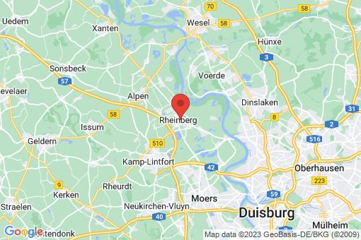 Karte Rheinberg