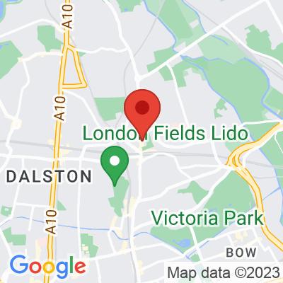Map showing Vicolo Hackney