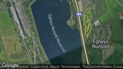 Eglwys Nunydd Reservoir