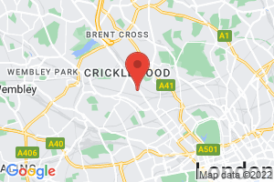 British Psychotherapy Foundation Library on the map