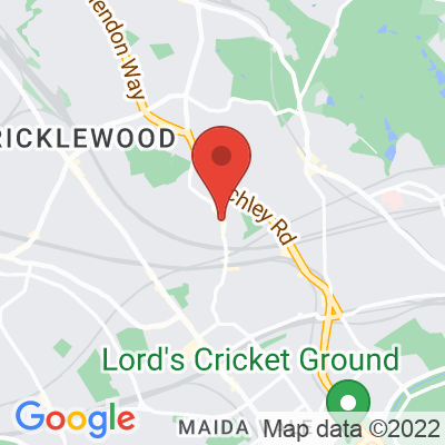 Map showing The Alice House West Hampstead