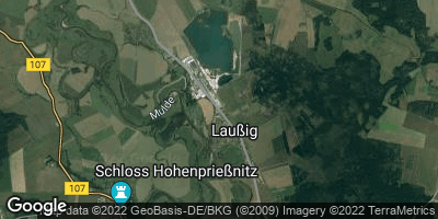 Google Map of Laußig