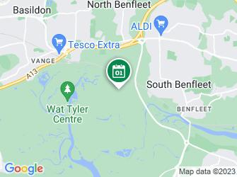 A static map of Wildlife Walk: Bowers Marsh