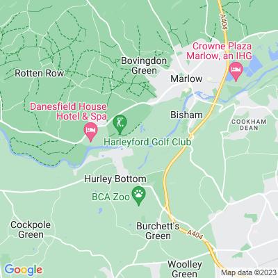 Harleyford Location
