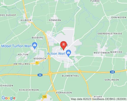 Google Karte von Rohrreinigung Werl