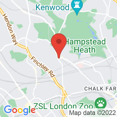 Map showing Ginger & White (Hampstead)
