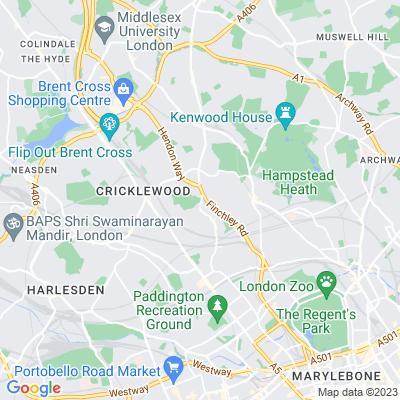 Hampstead Cemetery Location
