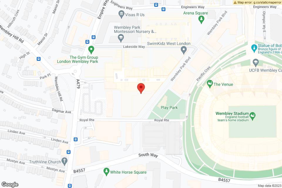 Unit 105,, London, HA9 0FD map