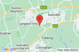 Basildon Healthcare Library on the map