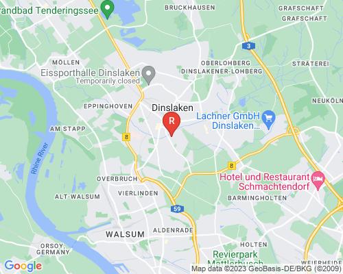 Google Karte von Rohrreinigung Dinslaken