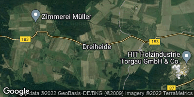 Google Map of Dreiheide