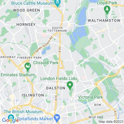 Stoke Newington Common Location