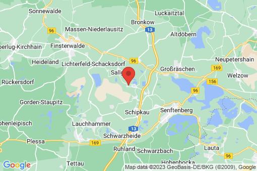 Karte Schipkau Annahütte, Annahütte-Siedlung