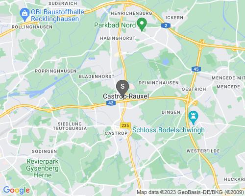 Google Karte von Schlüsseldienst Castrop-Rauxel