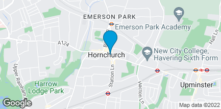 Map of 138 High Street in Hornchurch
