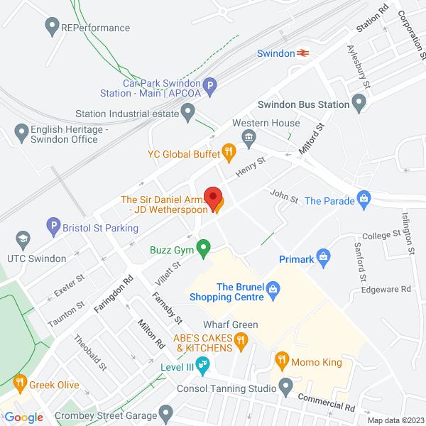 Google Static Maps Sir Daniel Arms