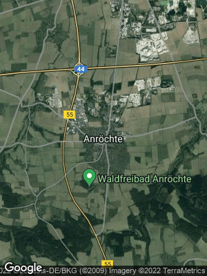 Google Map of Anröchte