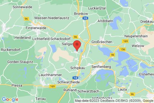 Karte Schipkau Annahütte, Annahütte