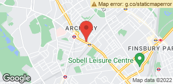 Map of Fresh Flower Scent at 748 Holloway Road, London, LND N19 3JF