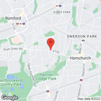 Map of Welcome Hornchurch, Hornchurch Road at Hornchurch Road, London, London RM11 1QL