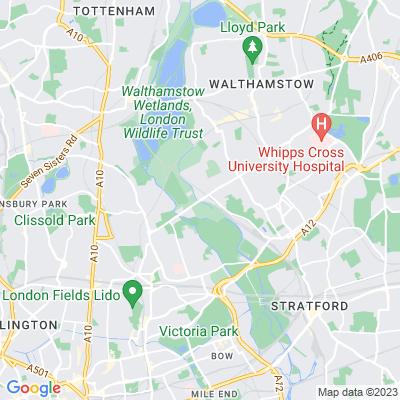 Walthamstow Marsh Location