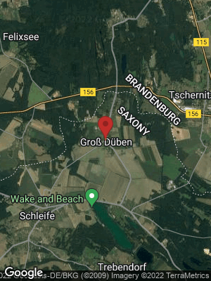 Google Map of Groß Düben