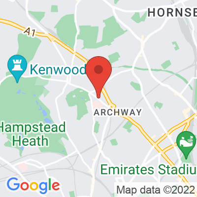 Map showing Archie's