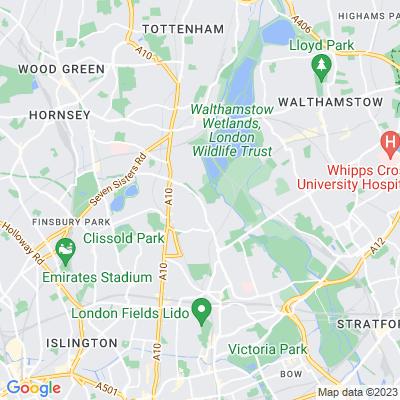Clapton Common Location