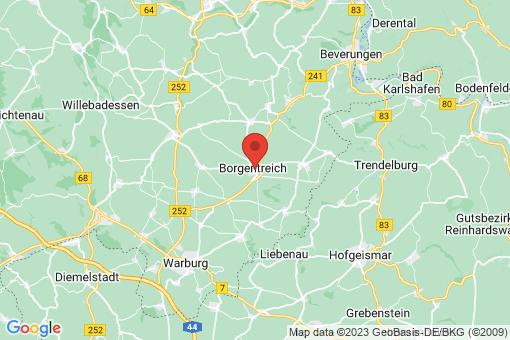 Karte Borgentreich