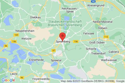 Karte Spremberg
