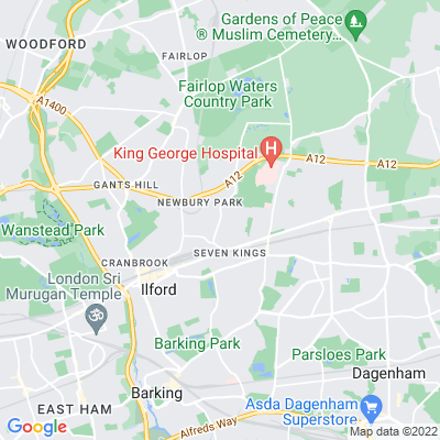 Seven Kings Park Location