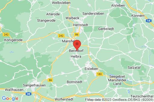 Karte Benndorf
