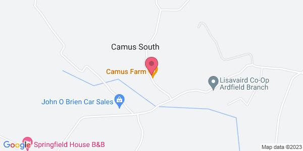 Get directions to Camus Farm Field Kitchen