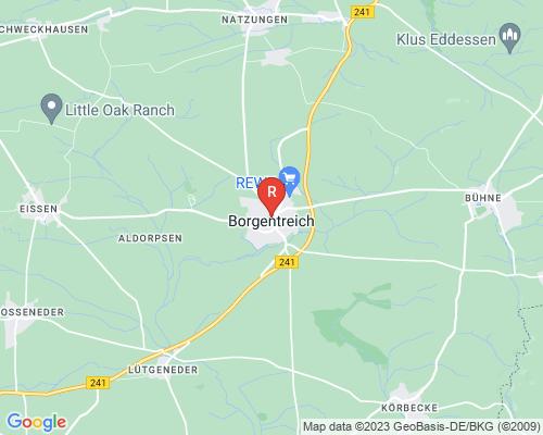 Google Karte von Rohrreinigung Borgentreich