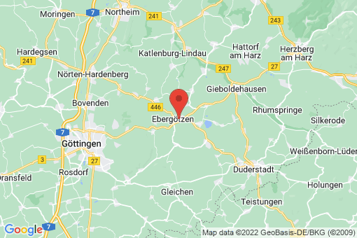 Karte Ebergötzen