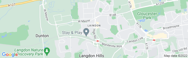 Map Of Laindon