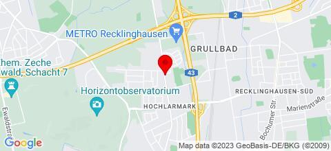 Google Map für Gut ausgestattete 3,5-Zimmer Wohnung in RE