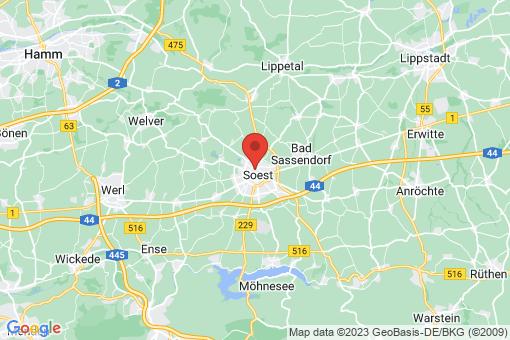 Karte Soest