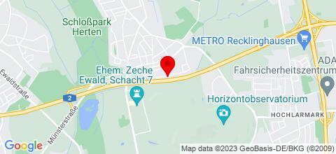 Google Map für Monteur und Ferienapartment Dierig
