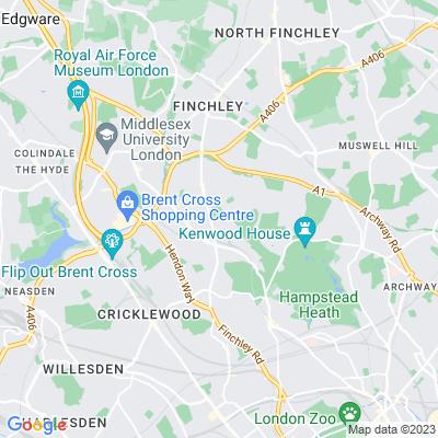 Golders Green Crematorium Location