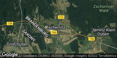 Google Map of Tschernitz
