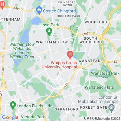 Knotts Green Location