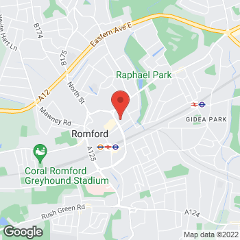 Map of wilko Romford at Liberty 2 Shopping Centre, Romford,  RM1 3EE