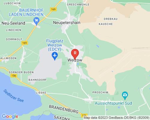 Google Karte von Rohrreinigung Wendisch Rietz